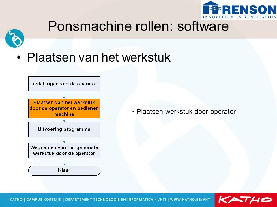 Ponsmachine rollen: software