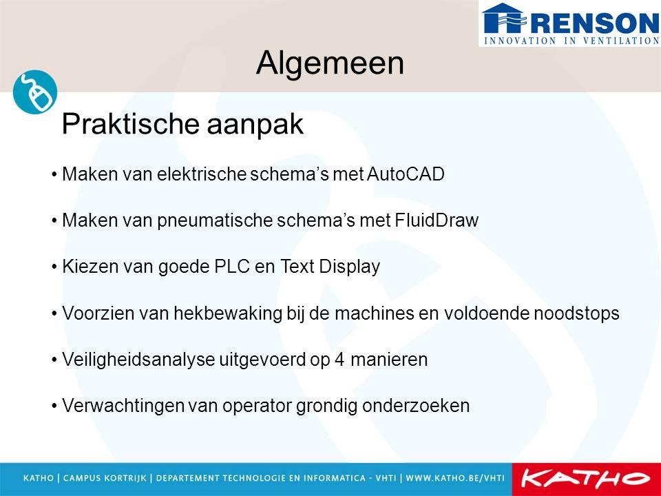 Algemeen Praktische aanpak Maken van elektrische schema's met AutoCAD