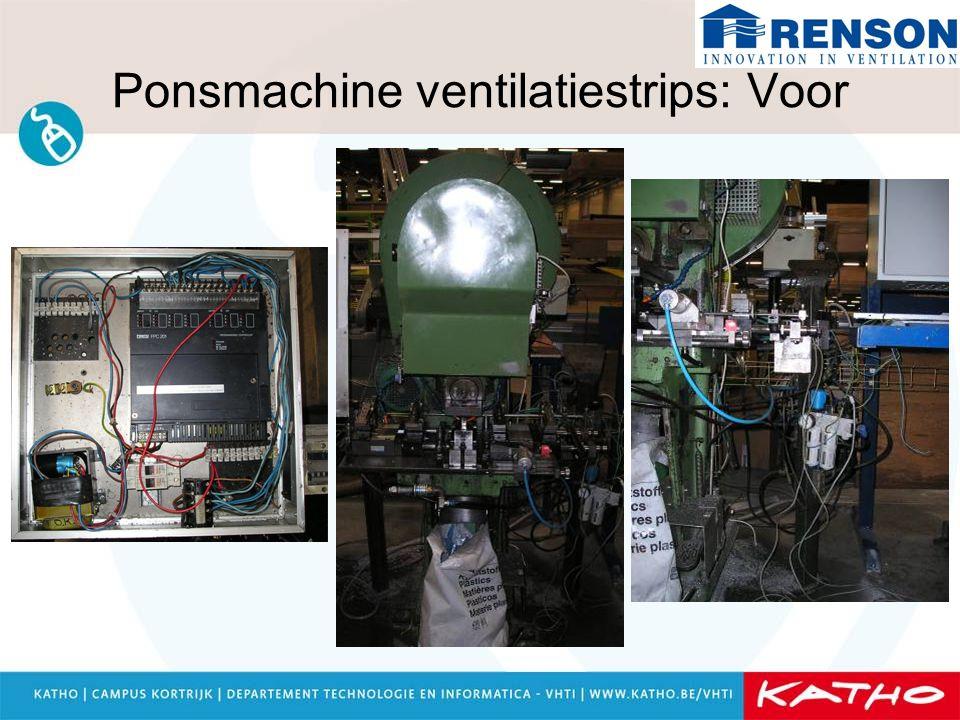 Ponsmachine ventilatiestrips: Voor