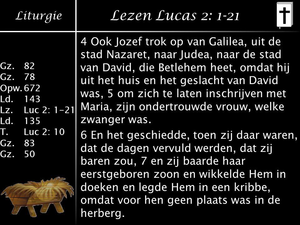 Lezen Lucas 2: 1-21