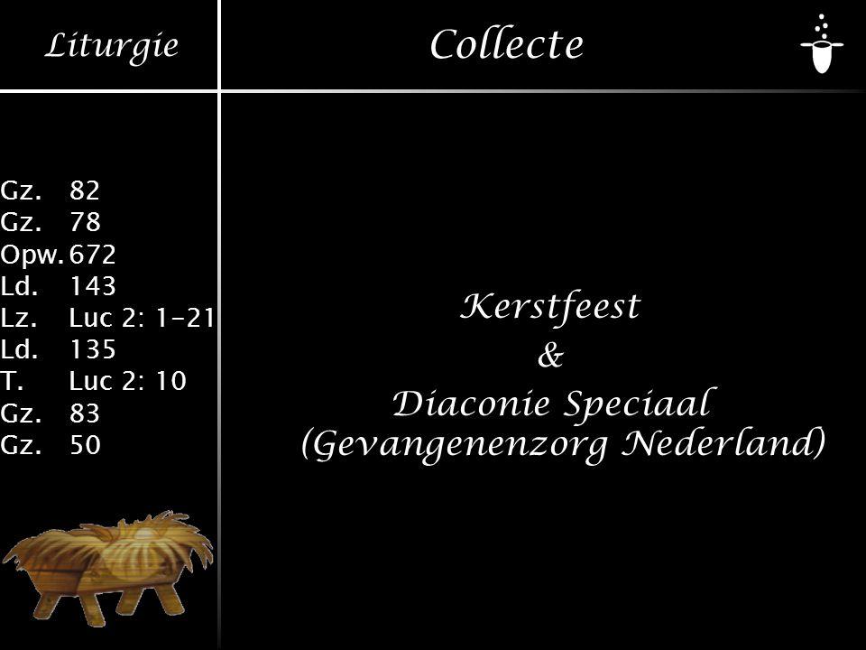 Kerstfeest & Diaconie Speciaal (Gevangenenzorg Nederland)