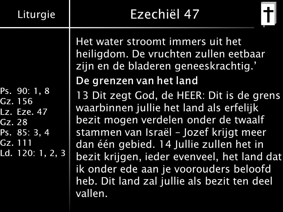 Ezechiël 47