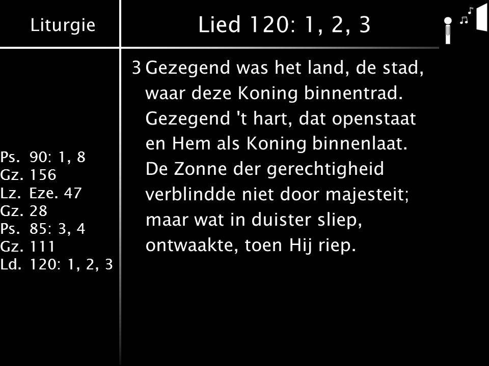 Lied 120: 1, 2, 3