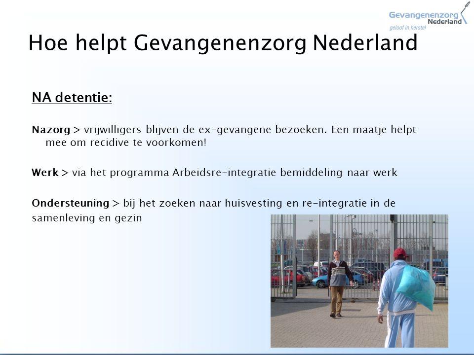 Hoe helpt Gevangenenzorg Nederland