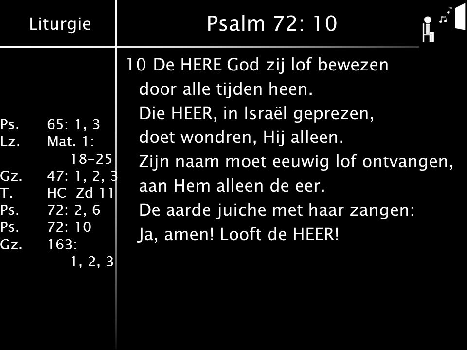 Psalm 72: 10