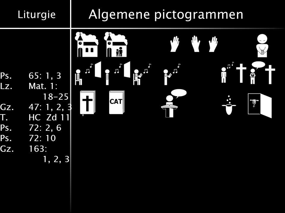 Algemene pictogrammen