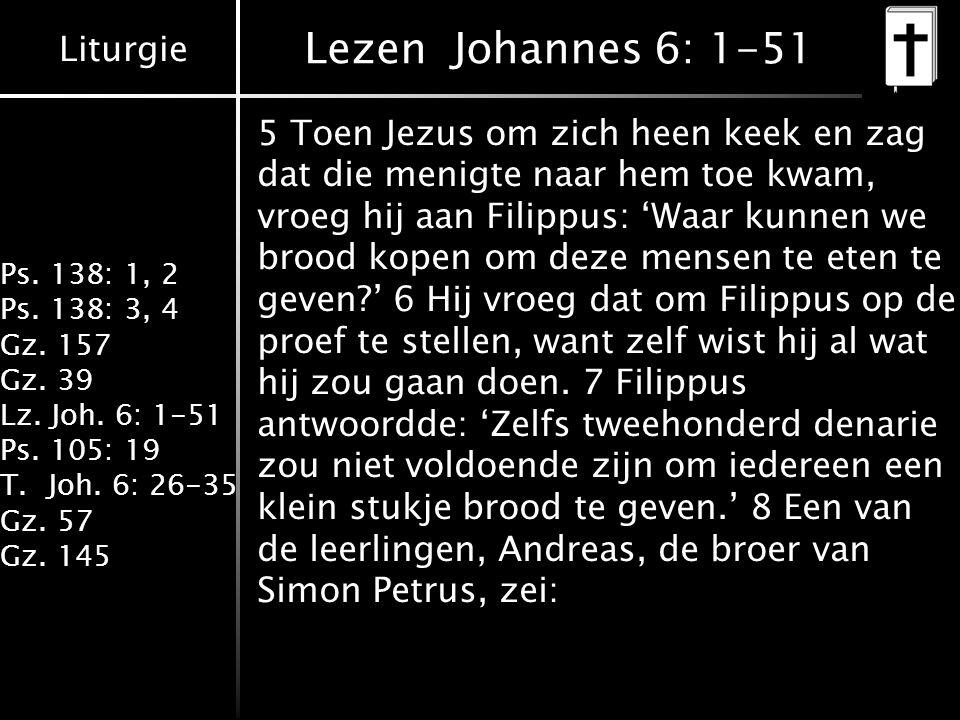 Lezen Johannes 6: 1-51