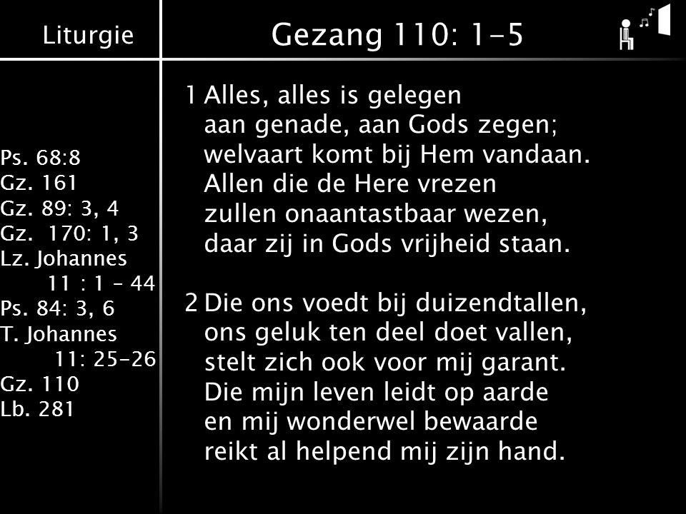 Gezang 110: 1-5