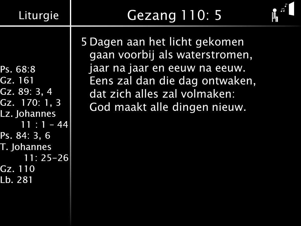 Gezang 110: 5