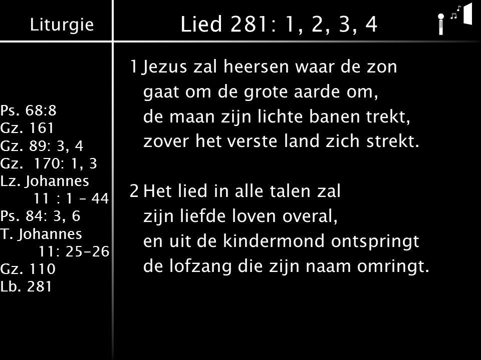 Lied 281: 1, 2, 3, 4