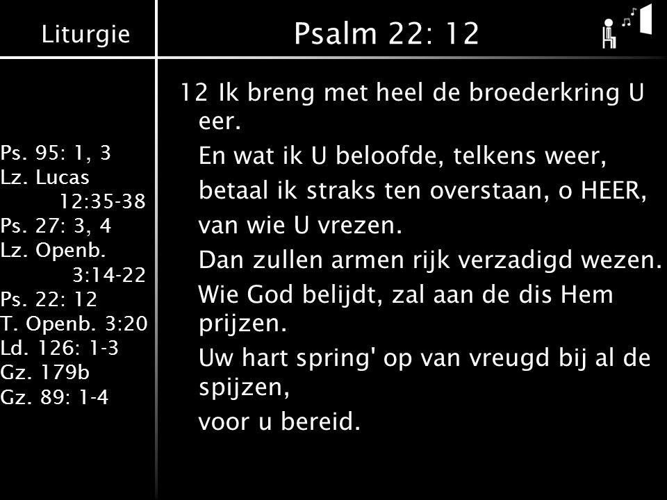 Psalm 22: 12