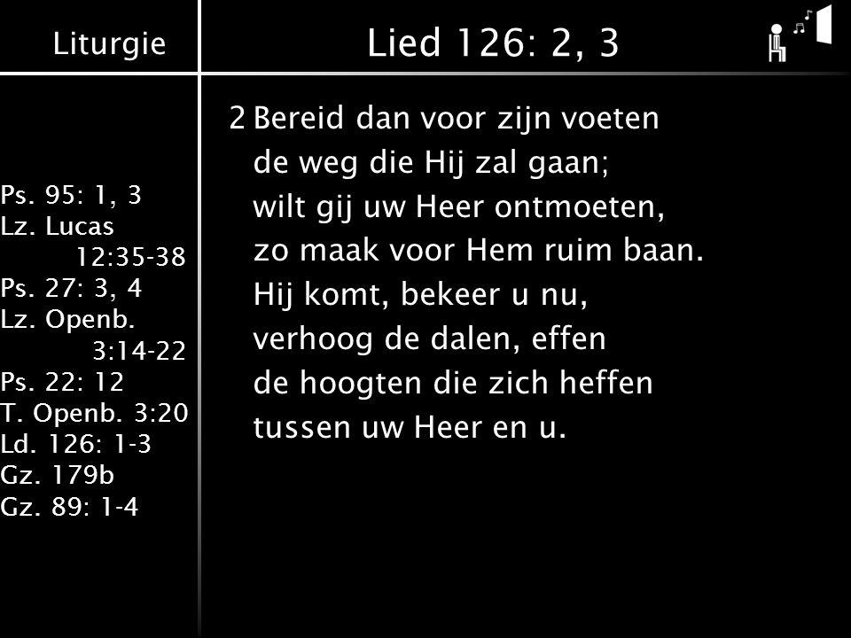 Lied 126: 2, 3