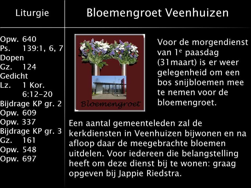 Bloemengroet Veenhuizen