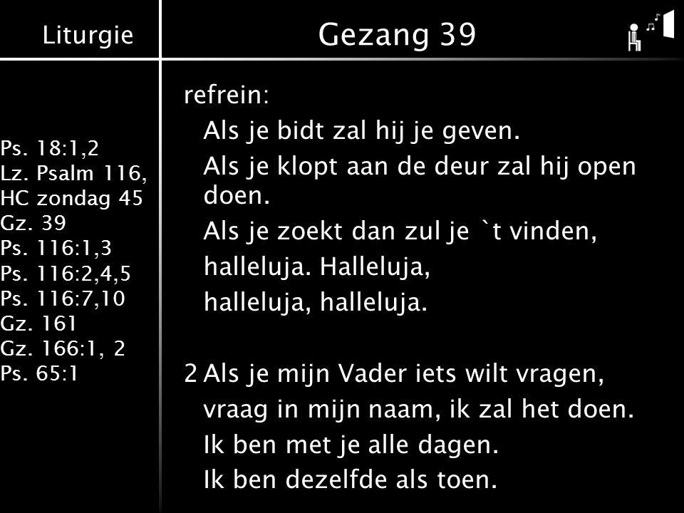 Gezang 39
