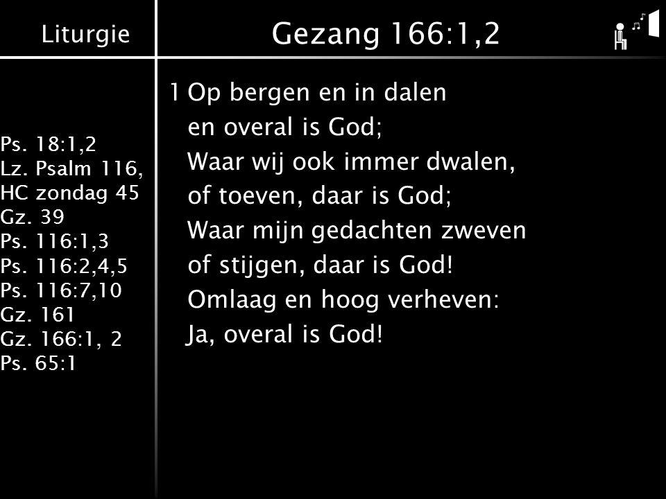 Gezang 166:1,2