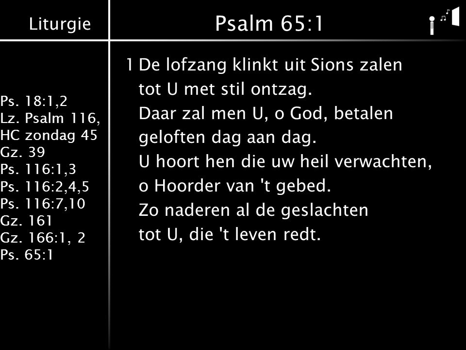 Psalm 65:1