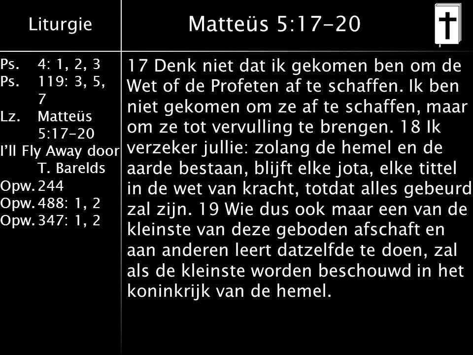 Matteüs 5:17-20