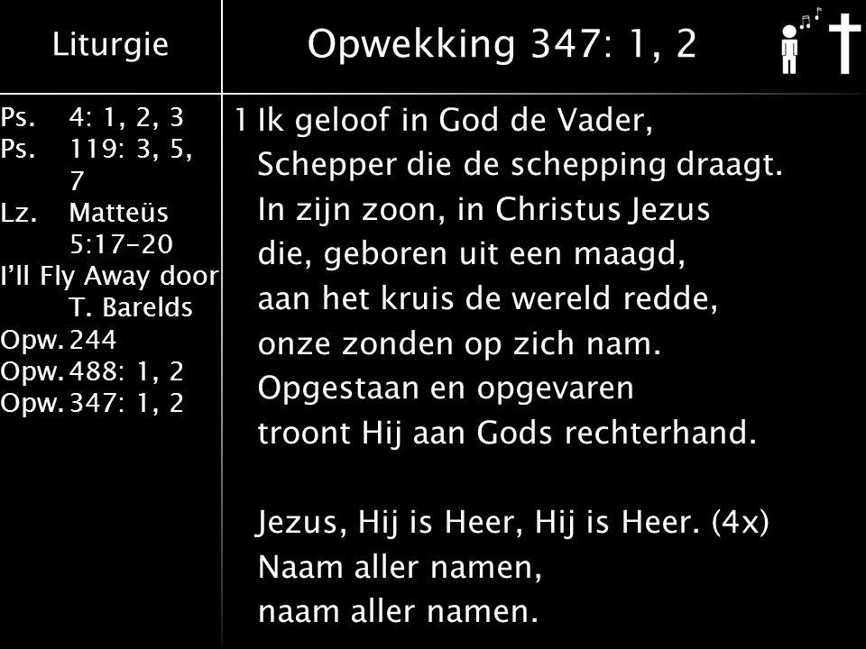 Opwekking 347: 1, 2
