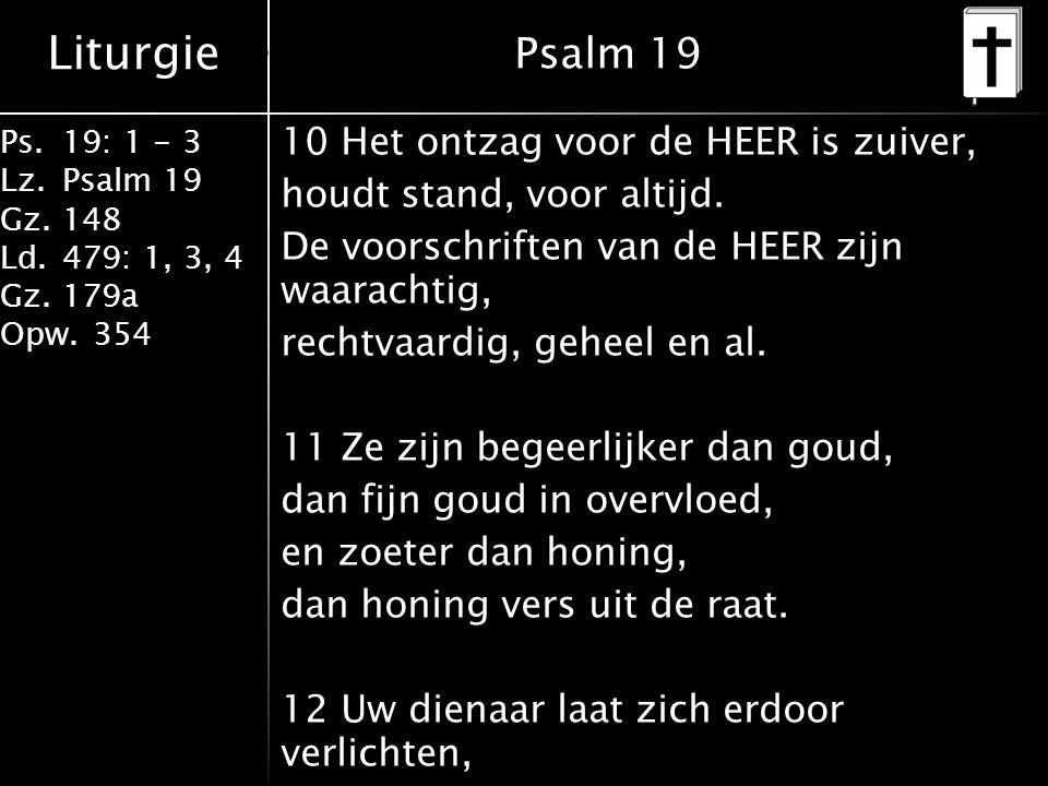 Psalm 19 Psalm 19.