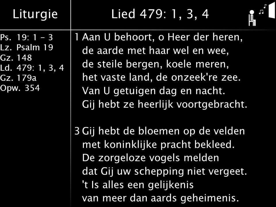 Lied 479: 1, 3, 4