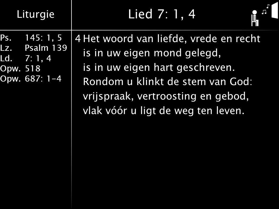 Lied 7: 1, 4