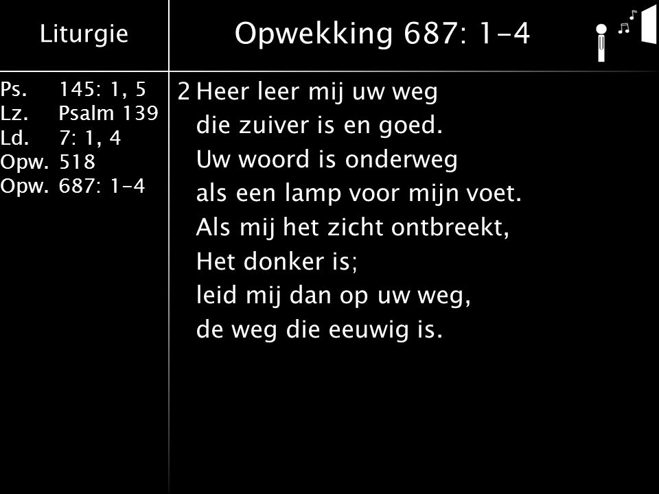Opwekking 687: 1-4