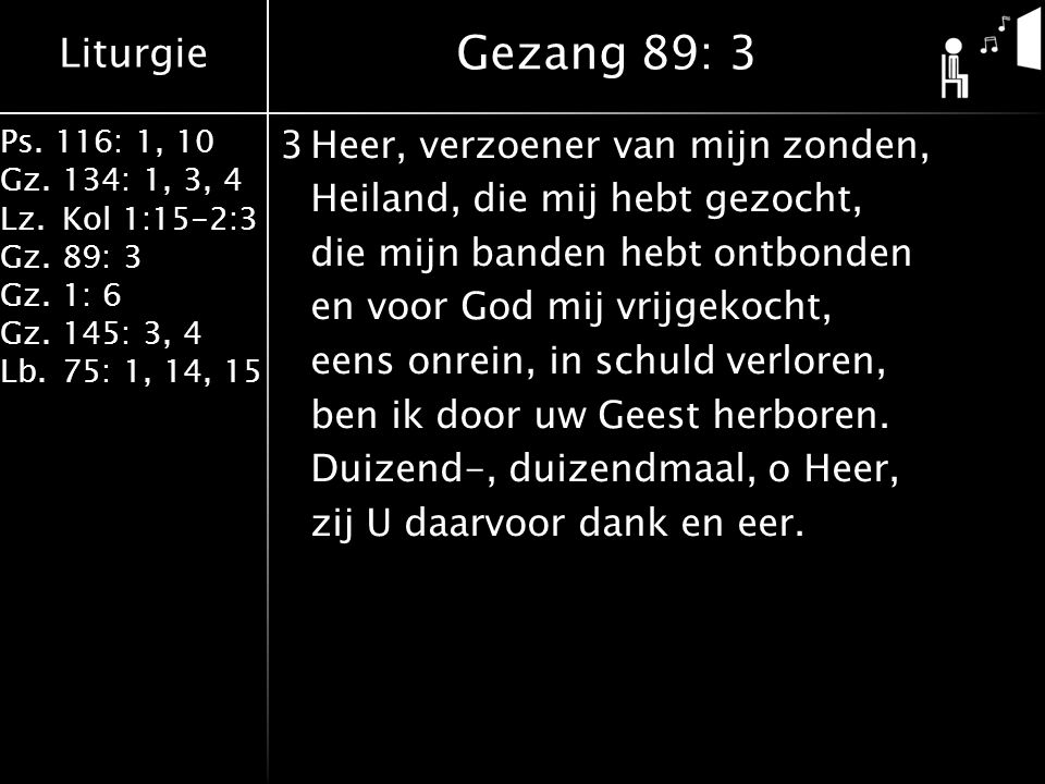 Gezang 89: 3