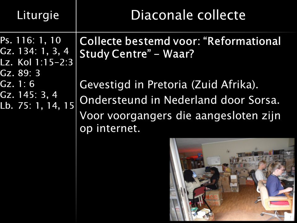 Diaconale collecte