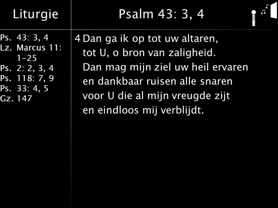 Psalm 43: 3, 4