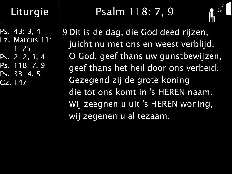 Psalm 118: 7, 9