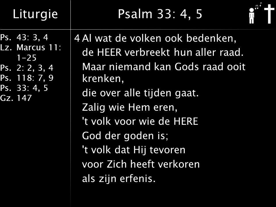 Psalm 33: 4, 5