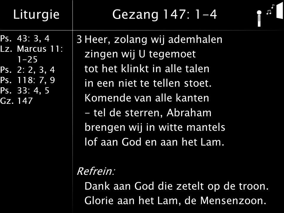 Gezang 147: 1-4