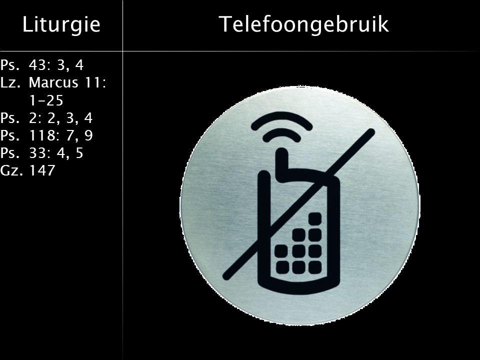 Telefoongebruik
