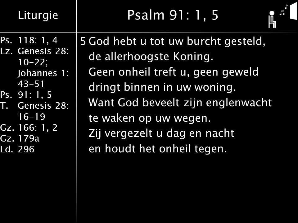 Psalm 91: 1, 5