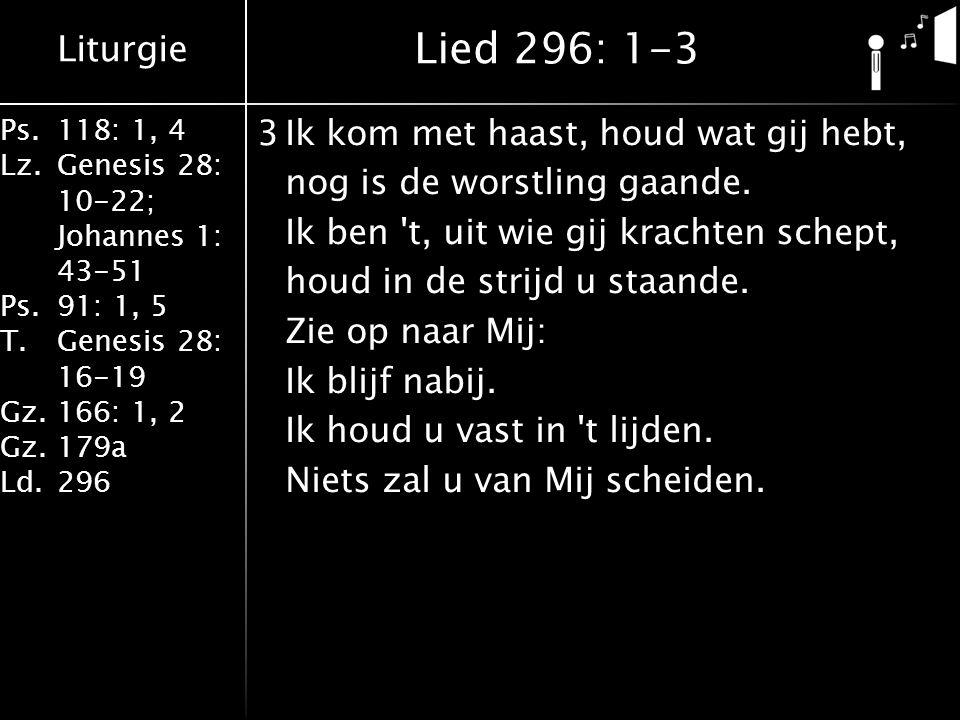 Lied 296: 1-3