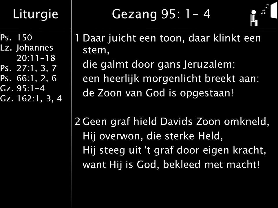 Gezang 95: 1- 4