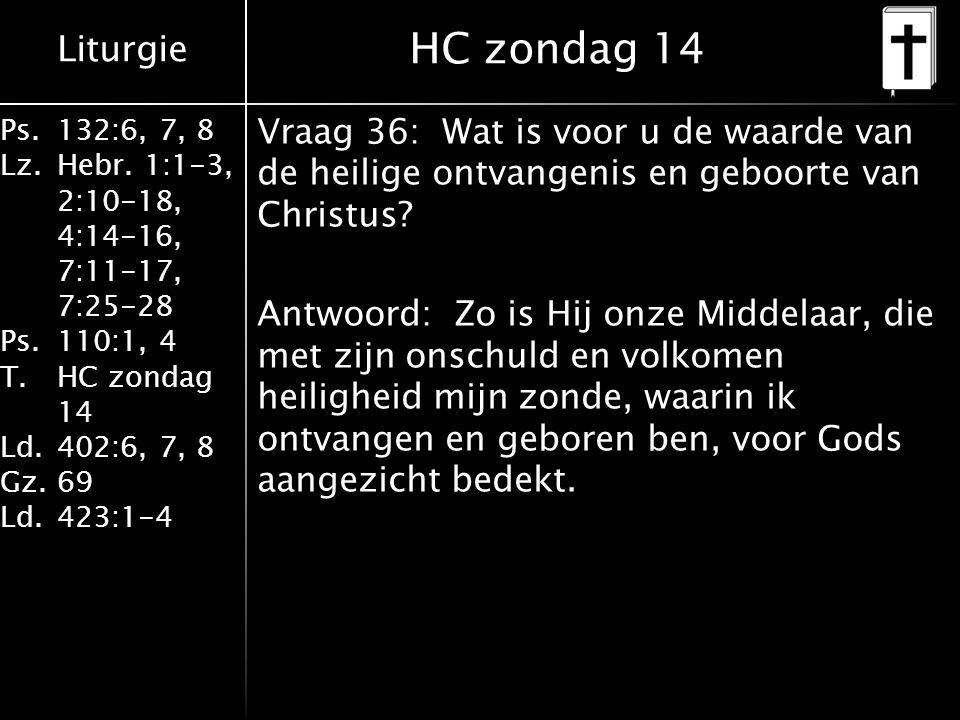 HC zondag 14
