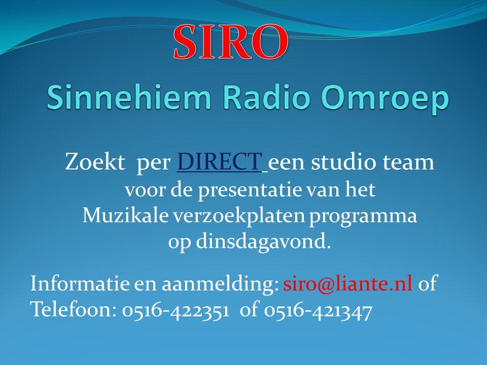 Sinnehiem Radio Omroep