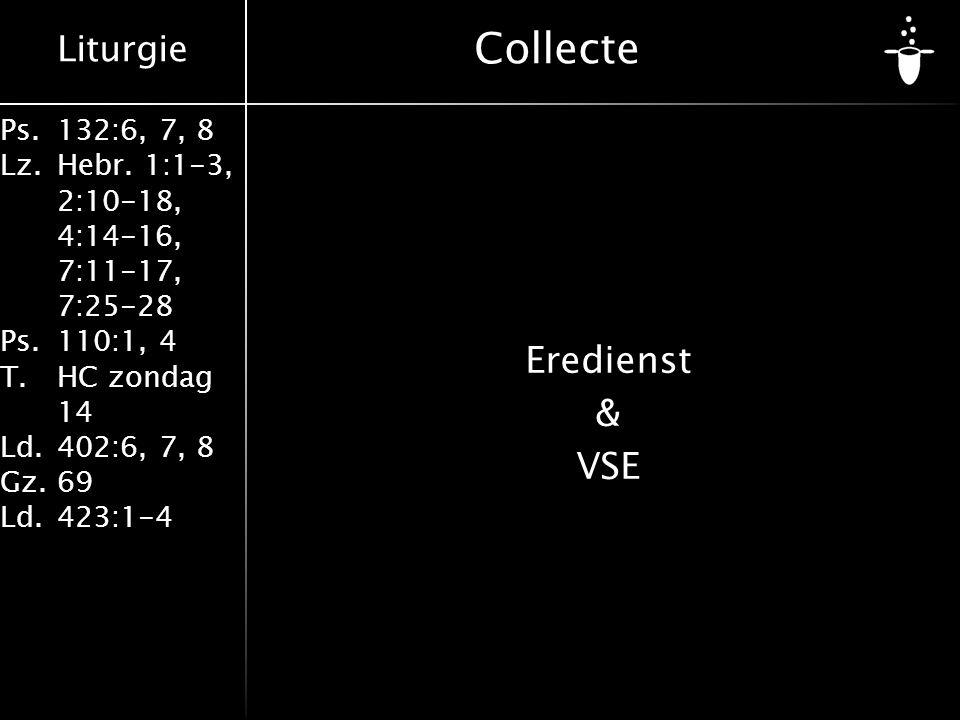 Collecte Eredienst & VSE