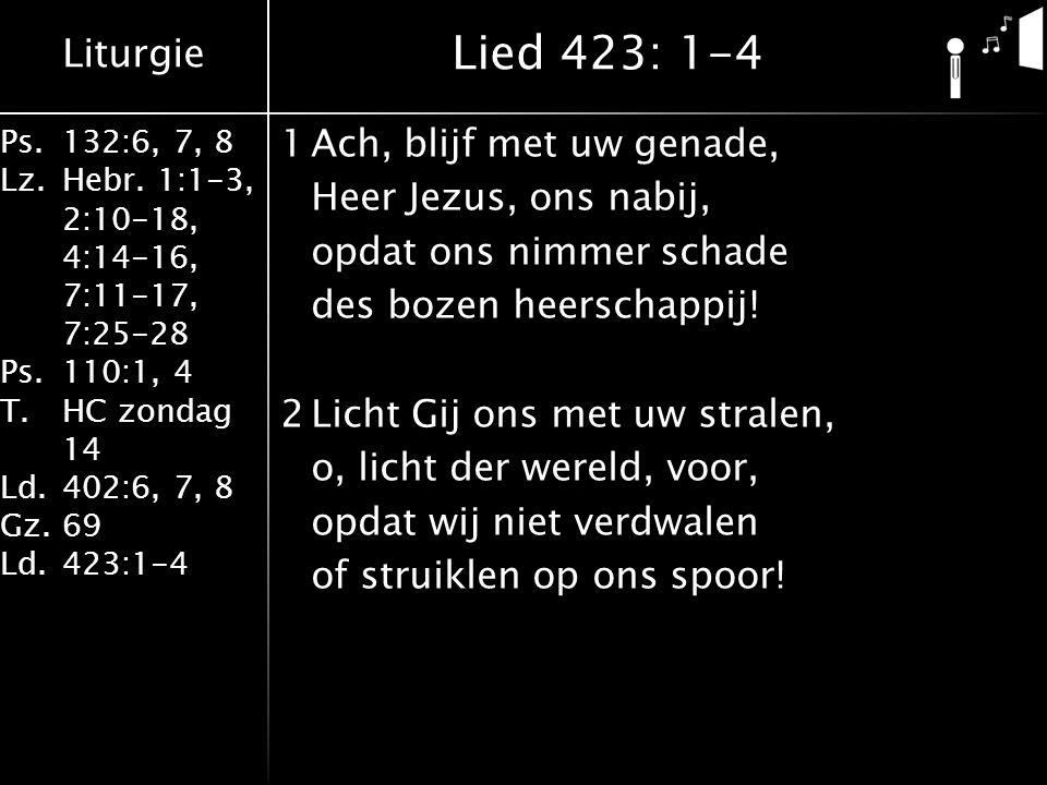 Lied 423: 1-4