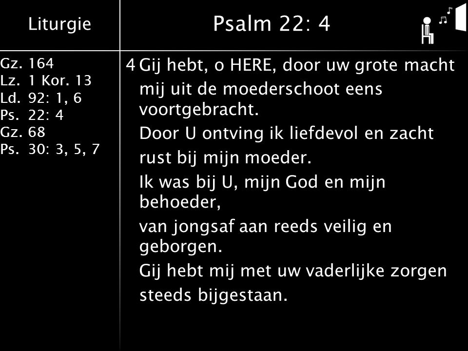 Psalm 22: 4