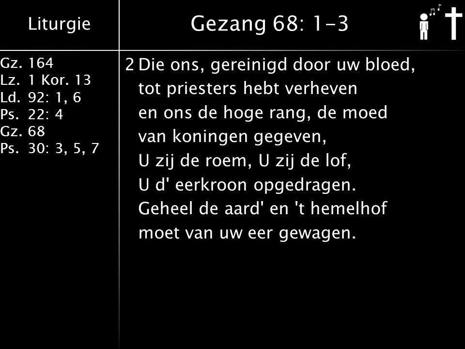 Gezang 68: 1-3
