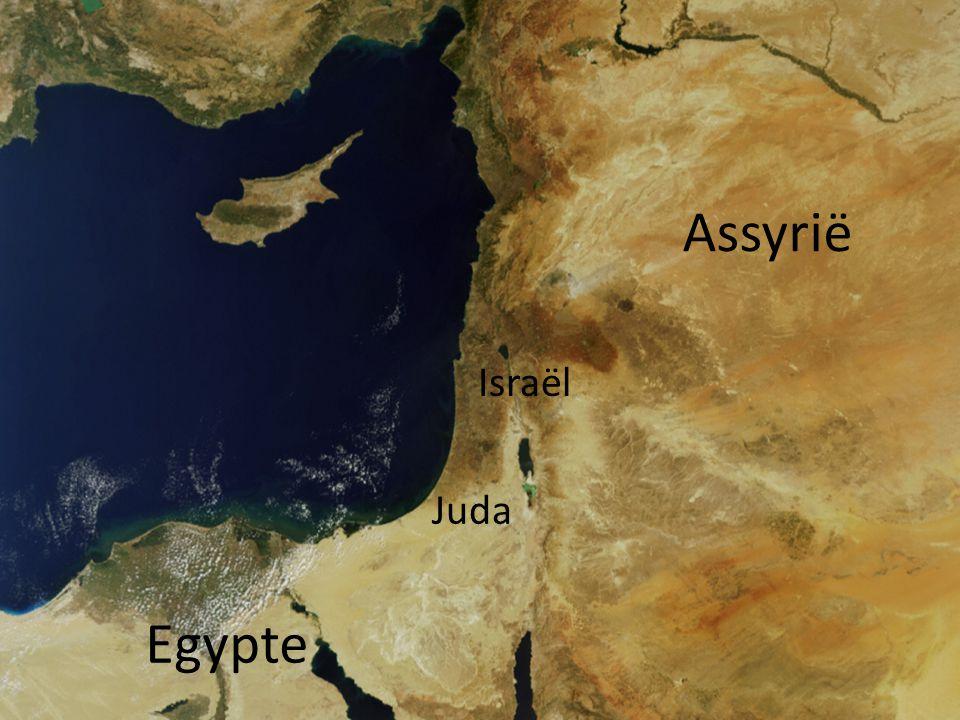 Assyrië Israël Juda Egypte