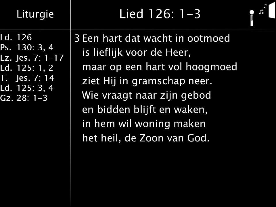 Lied 126: 1-3