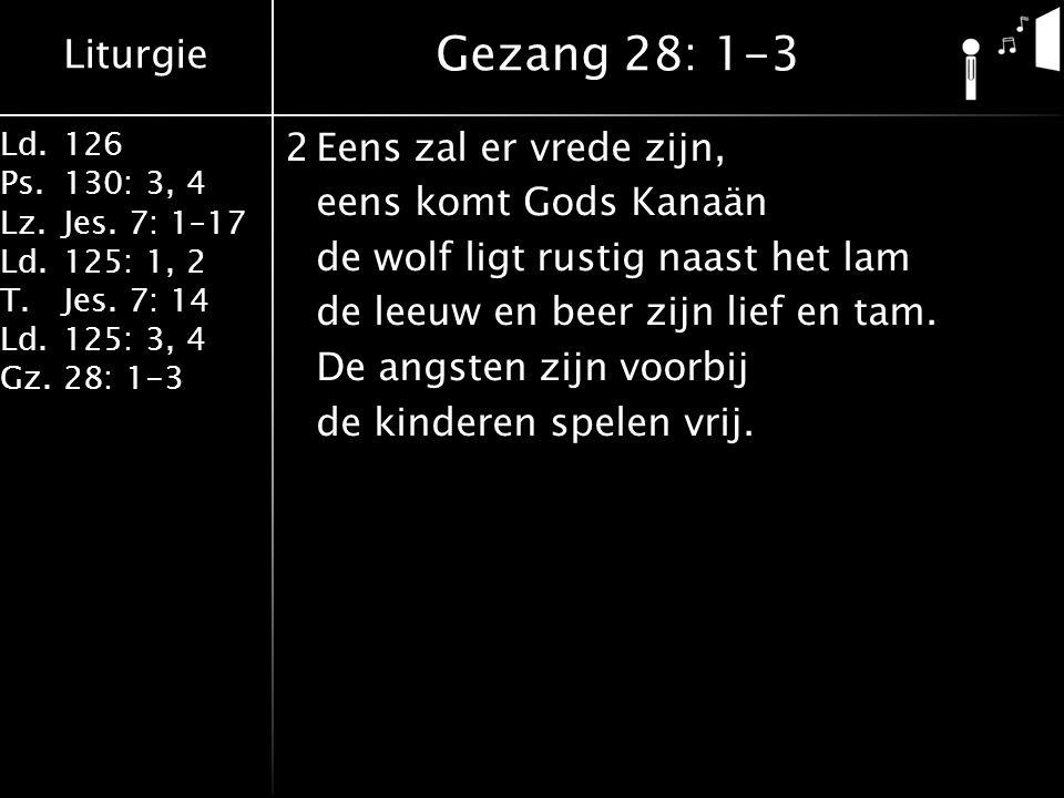 Gezang 28: 1-3