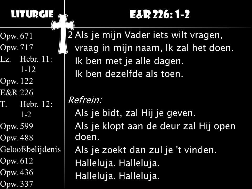 E&R 226: 1-2