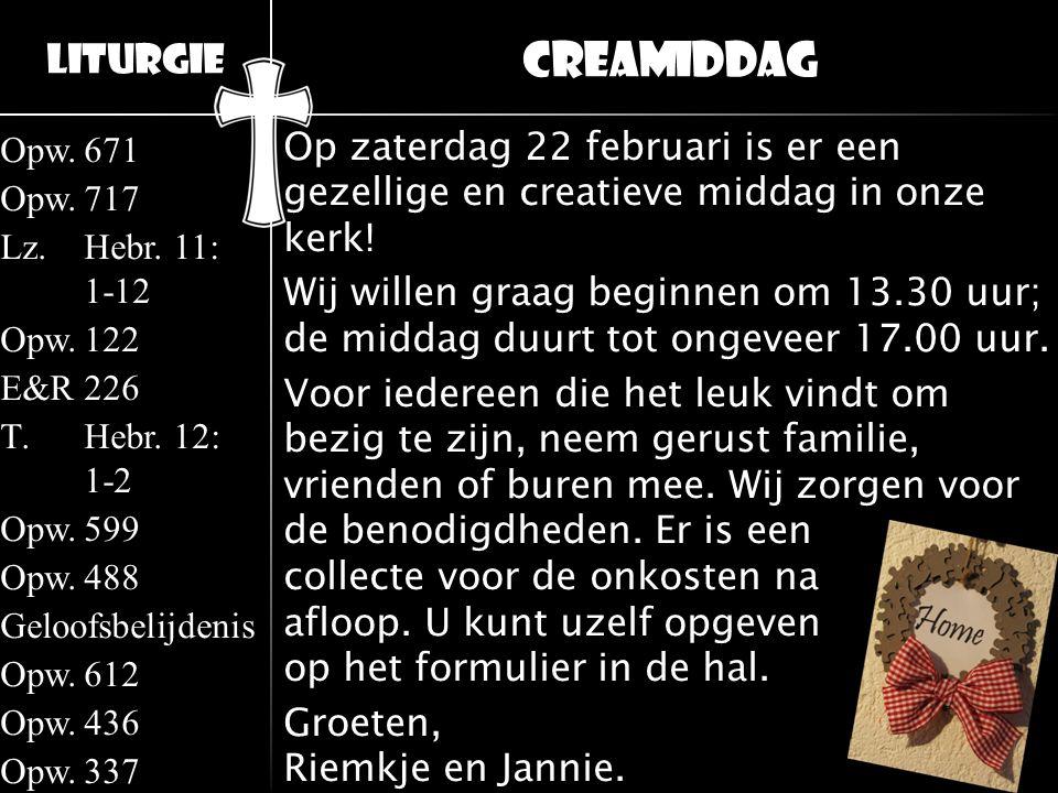 Creamiddag