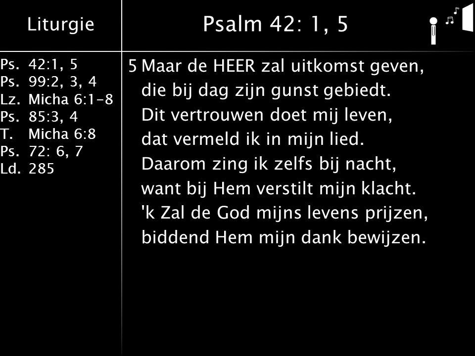 Psalm 42: 1, 5