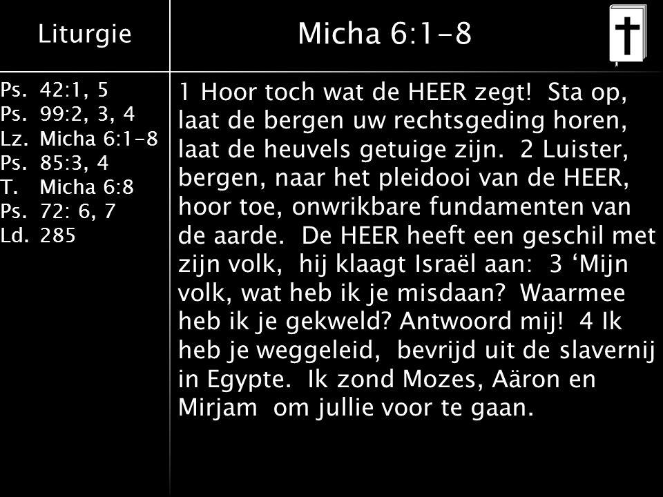 Micha 6:1-8