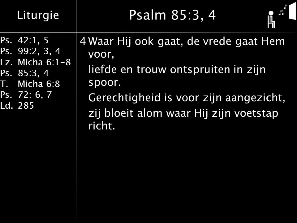 Psalm 85:3, 4
